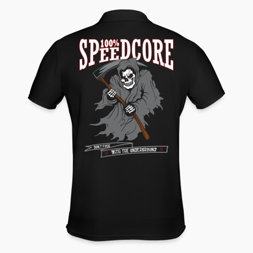 100% Speedcore - Don't Fck With The Underground - Men's Polo Shirt