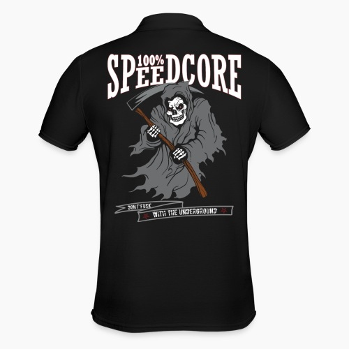 100% Speedcore - Don't F*ck With The Underground - Men's Polo Shirt
