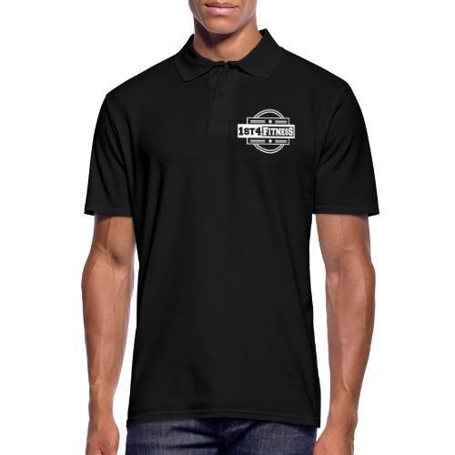 1st4Fitness White Back & Front - Men's Polo Shirt