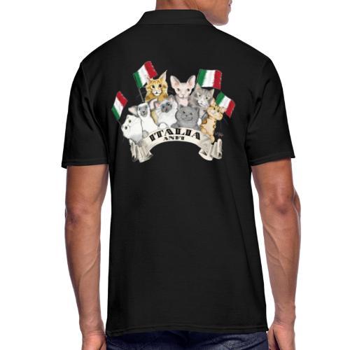 Esposizione feline Italia - Polo da uomo