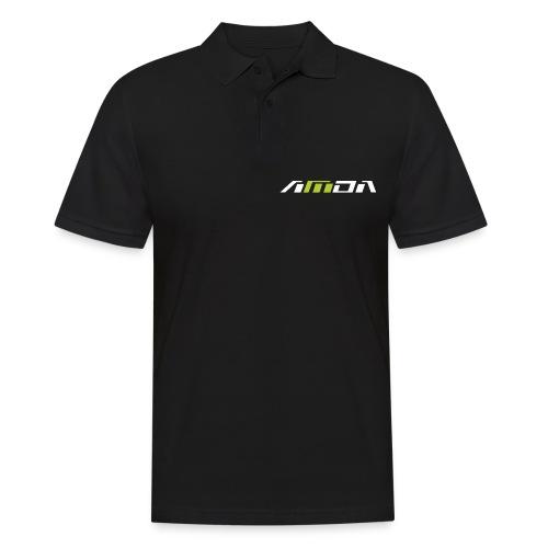 AMDA_Logo Font test - Männer Poloshirt
