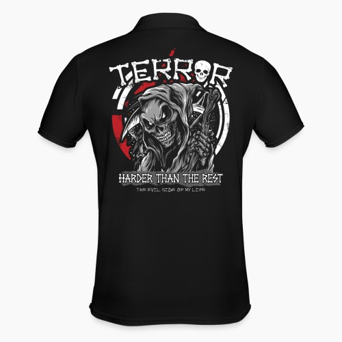 Terror - Harder Than The Rest - Men's Polo Shirt