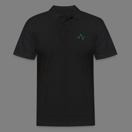Wave zig - Männer Poloshirt
