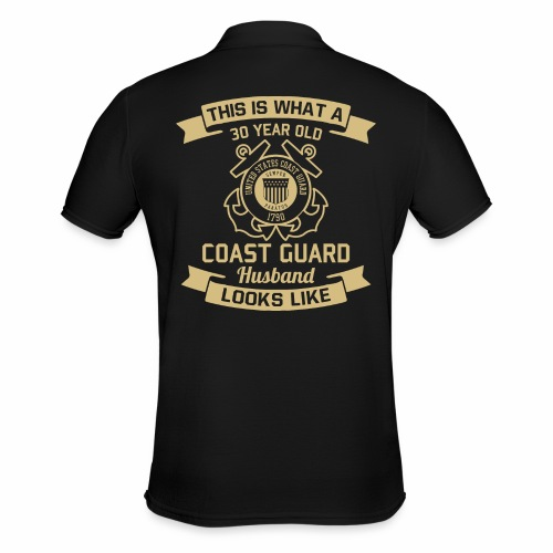 This Is What A 30 Year Old Coast Guard Husband - Männer Poloshirt