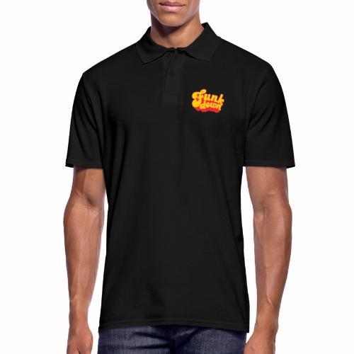 Funkdown Official Merchandise (dobbelt logo) - Herre poloshirt