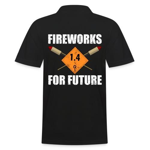 Fireworks for Future Silvester Pyro - Männer Poloshirt