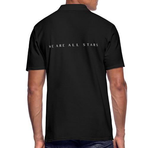 Galaxy Music Lab - We are all stars - Herre poloshirt