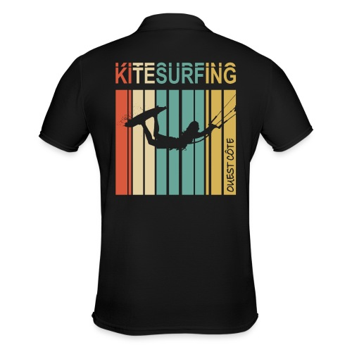 Kitesurfing Ouest Côte - Polo Homme