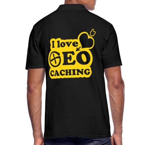 I love Geocaching - 1color - 2011 - Männer Poloshirt