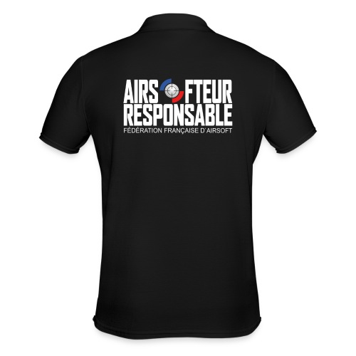 Airsofteur Responsable Dos - Polo Homme