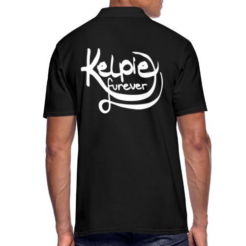 Kelpie furever - Männer Poloshirt