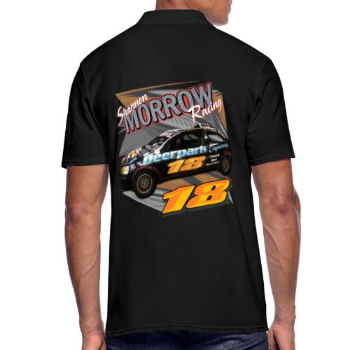 Shannon Morrow Racing 18 front & back - Men's Polo Shirt