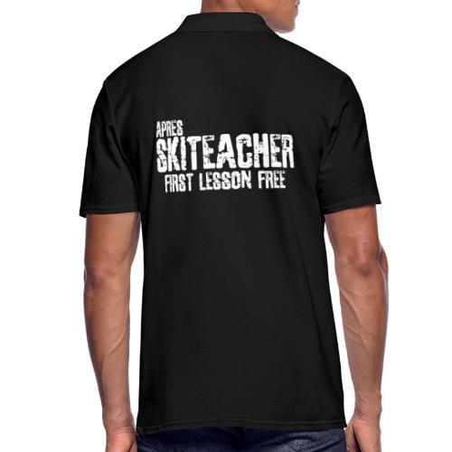 AS TEACHER3 - Mannen poloshirt