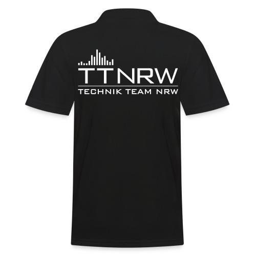 technik team nrw logo - Männer Poloshirt