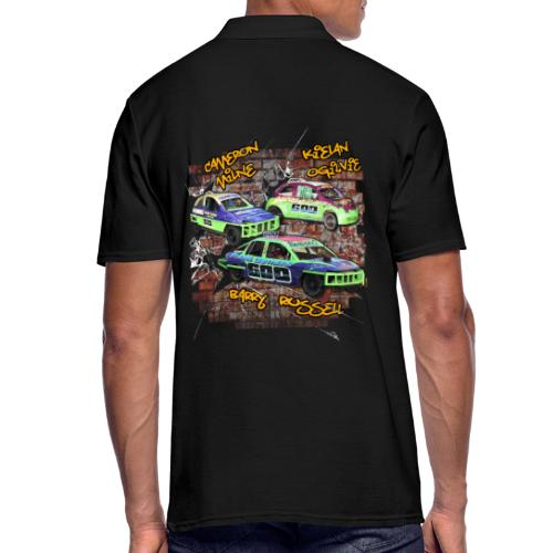 600/60 Racing Team front & back - Men's Polo Shirt