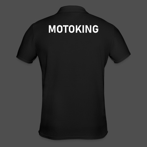 moto king - Men's Polo Shirt