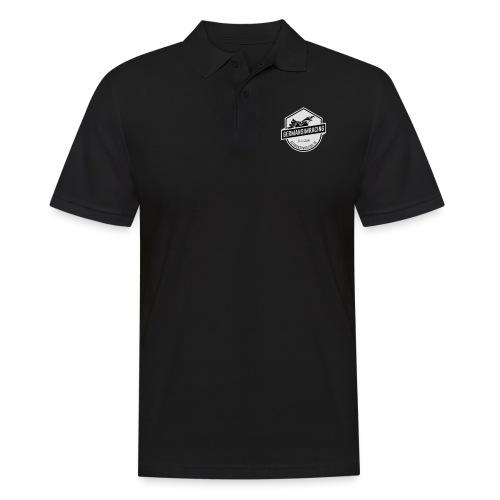 White Emblem - Männer Poloshirt