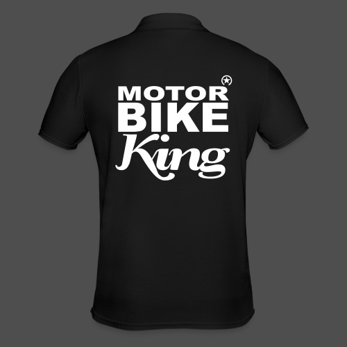 Motorbike King - Männer Poloshirt