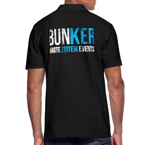 Bunker & Harte Zeiten Supporter - Männer Poloshirt