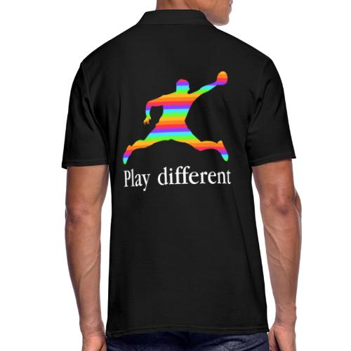 PLAY DIFFERENT - Polo Homme