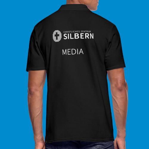 Silbern Media - Männer Poloshirt