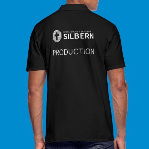 Silbern Production - Männer Poloshirt