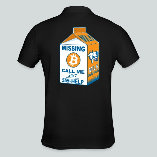 Missing :bitcoins - Polo Homme
