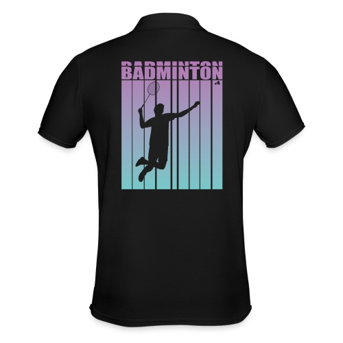 Badminton Jump Smash - Men's Polo Shirt