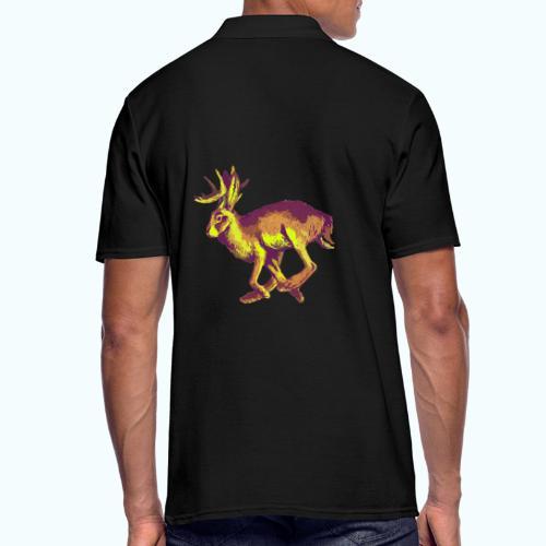 Fantasy Wolpertinger - Men's Polo Shirt