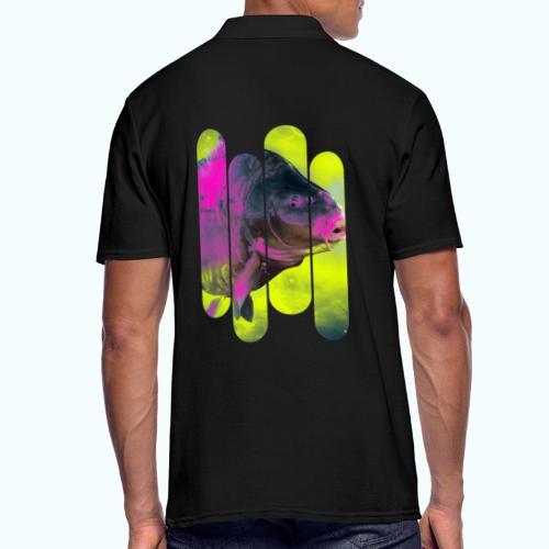 Neon colors fish - Men's Polo Shirt