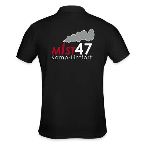 MIST47 Logo - Männer Poloshirt