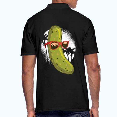 Surfer cucumber - Men's Polo Shirt