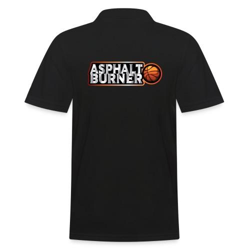 Asphalt Burner - for streetball players - Men's Polo Shirt