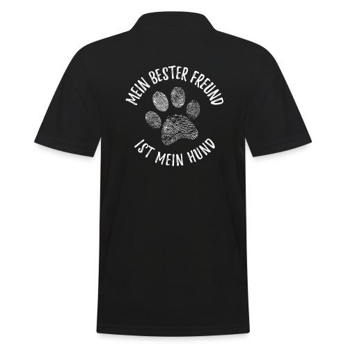 Vorschau: Mein Hund Bester Feund - Männer Poloshirt