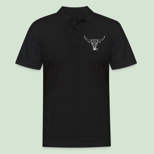 Logo & Bull's head - Männer Poloshirt