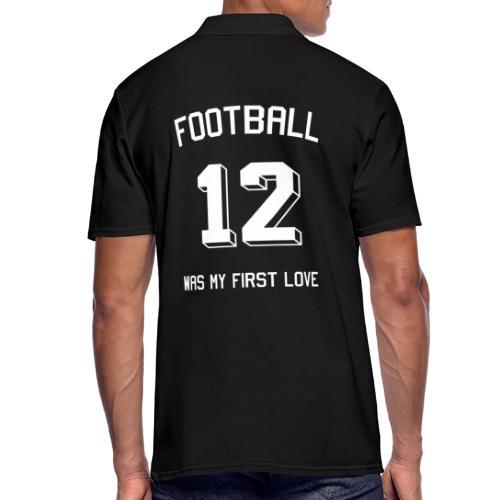 Football was my first love - Trikot - Männer Poloshirt