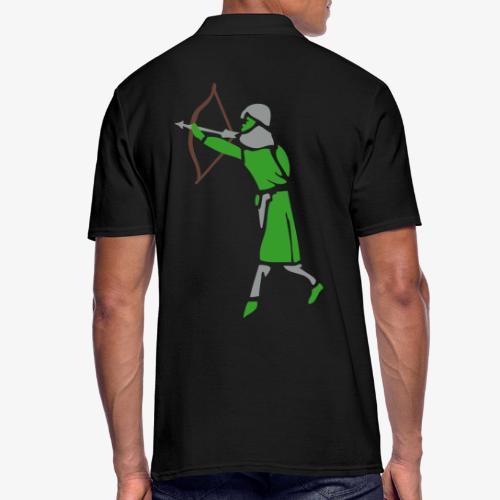 Archer Medieval Icon patjila design - Men's Polo Shirt