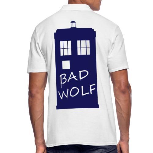 Bad Wolf Tardis - Polo Homme