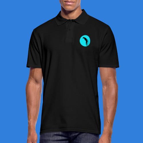Parrot Logo + Prompt - Men's Polo Shirt