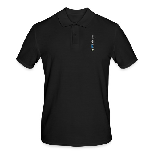 LRTImelapse Shirt Logo Vorne Hoch breiter3 png - Männer Poloshirt