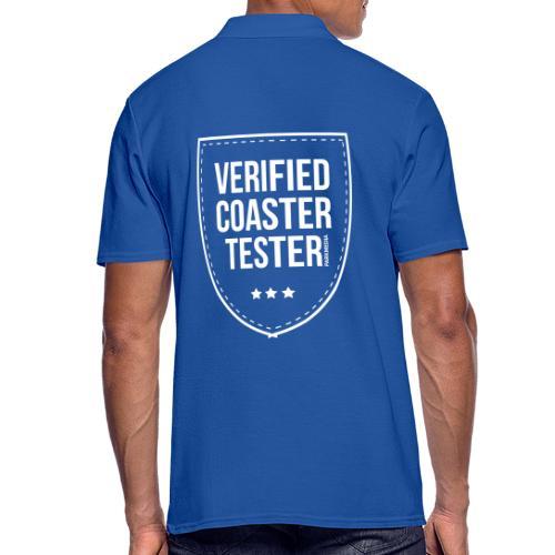 Badge CoasterTester vérifié - Polo Homme