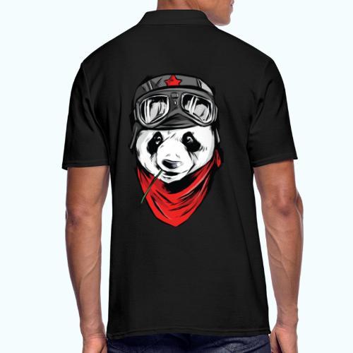Panda pilot - Men's Polo Shirt