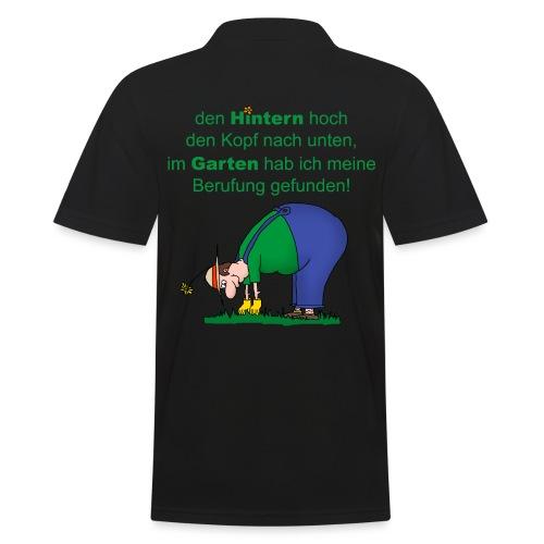 Garten, Gartenarbeit, Gärtner - Männer Poloshirt