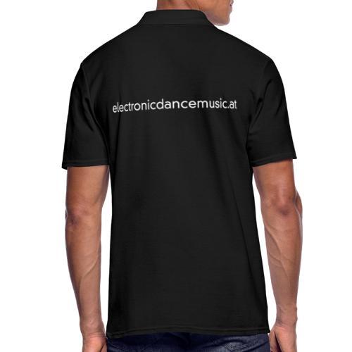 electronicdancemusic.at weiß doppelt - Männer Poloshirt