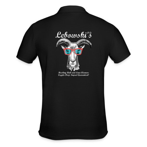 000_NEW Lebowskis Fullsiz - Männer Poloshirt
