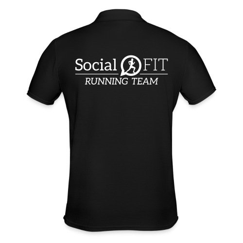 SocialFit RunningTeamLogo - Männer Poloshirt