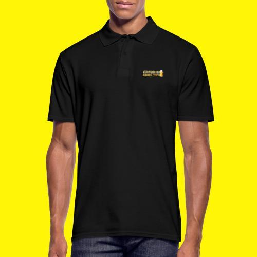 Verifizierter Alkohol-Tester - Männer Poloshirt