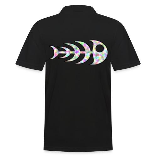 fish legs in rainbow colors - Men's Polo Shirt