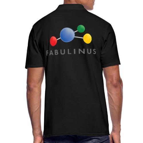 Fabulinus logo enkelzijdig - Mannen poloshirt
