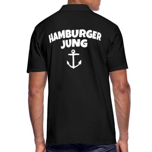 Hamburger Jung aus Hamburg - Männer Poloshirt